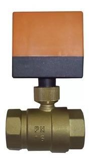 Válvula Esférica Motorizada Calefacción Pex