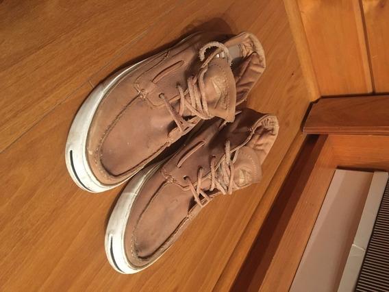 Zapatillas Converse - Jack Purcell (tipo Botita)