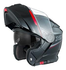 Capacete Moto X11 Turner Articulado Viseira Solar + Touca