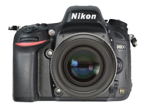 Nikon D600 Full Frame, Com Grip, Apenas 26k Clicks!