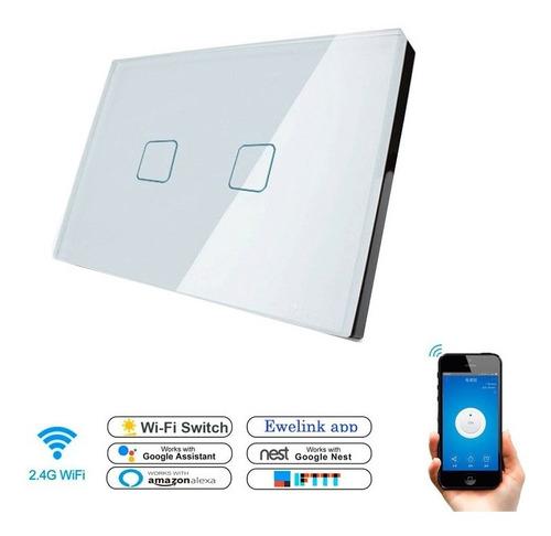 Switch Wifi Interruptor 2 Táctil App Control Móvil Domótica