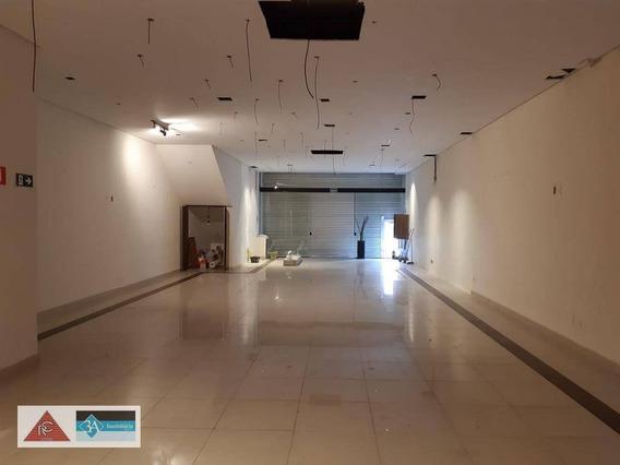 Salão Para Alugar, 200 M² Por R$ 8.500,00/mês - Vila Gomes Cardim - São Paulo/sp - Sl0203