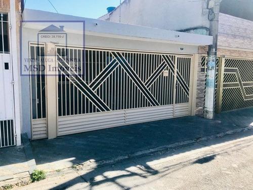 Casa A Venda No Bairro Jardim Paraventi Em Guarulhos - Sp.  - 2850-1