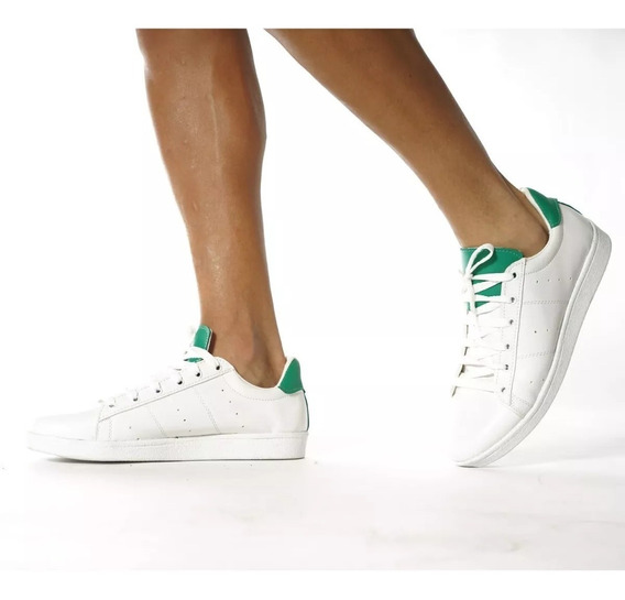 Zapatillas Urban De Cuero Retro Blancas - Fraction Clothes
