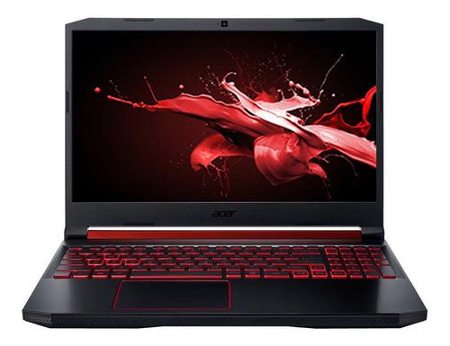"Imagen 1 de 6 de Notebook Acer Nitro 5 AN515-54 obsidian black 15.6"", Intel Core i7 9750H  16GB de RAM 256GB SSD, NVIDIA GeForce RTX 2060 144 Hz 1920x1080px Windows 10 Home"
