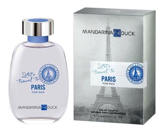 Mandarina Duck Lets Travel To Paris Edt 100ml - Masculino