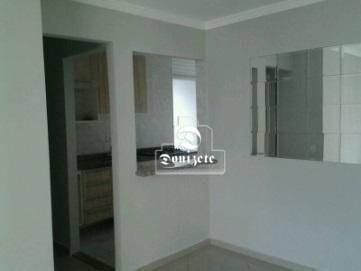 Apartamento Com 3 Dormitórios À Venda, 68 M² Por R$ 380.000 - Vila Pires - Santo André/sp - Ap11803