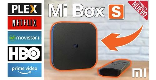 Xiaomi Mi Tv Box S Android 4k Chromecast Netflix