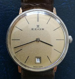 Reloj Edox Antiguo De Cuerda