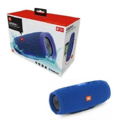 Caixa De Som Jbl Charge 3 Bluetooth A Prova D