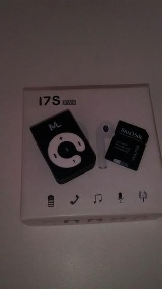 Mp3 Ml.com Cartão De Memória De 32gb +brinde Phones Blueto..