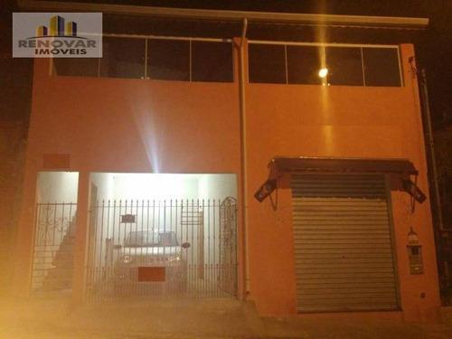 Imagem 1 de 18 de Sobrado Residencial À Venda, Vila Nova Aparecida, Mogi Das Cruzes - . - So0072