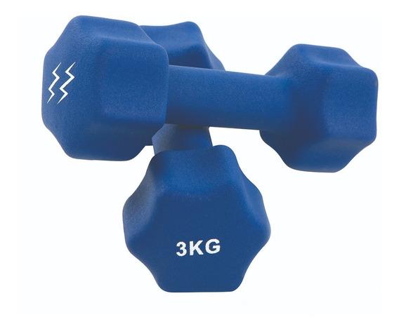 Mancuernas Neoprene 3 Kg Zoom Fitness