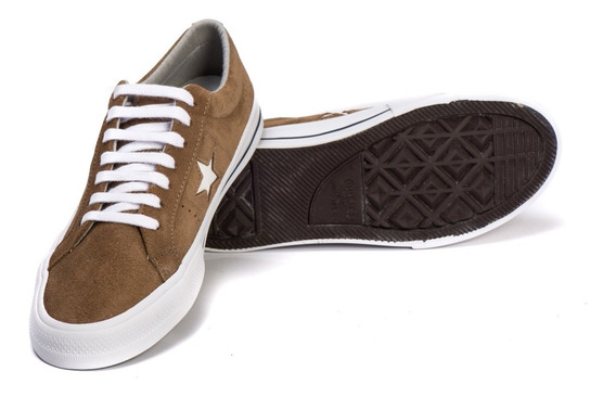 Tênis Converse One Star Allstar Original Camurça Whiskey