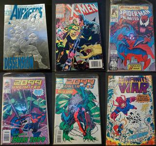 Revistas Marvel Y Dc Comics Superheroes
