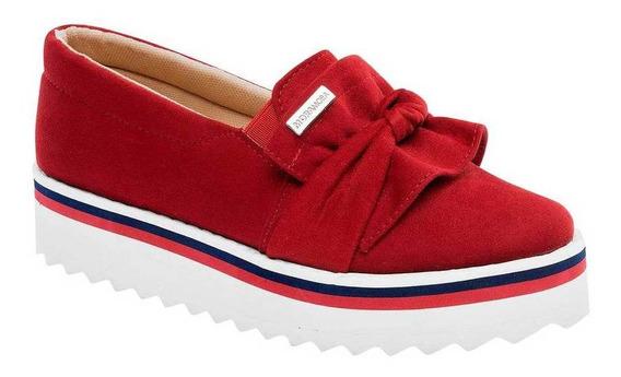 Zapato Moramora 15141 Mujer Talla 22-26 Color Rojo Pk-oi19