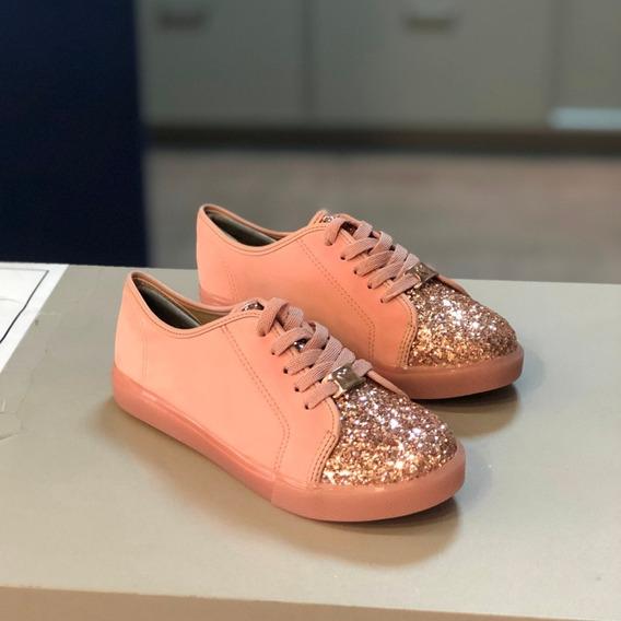 Tênis Molekinha Rosé Multi Brilhos Nova Coleção 2020 - At