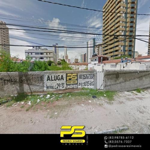 Imagem 1 de 1 de Terreno Para Alugar, 720 M² Por R$ 8.000/mês - Bessa - João Pessoa/pb - Te0210