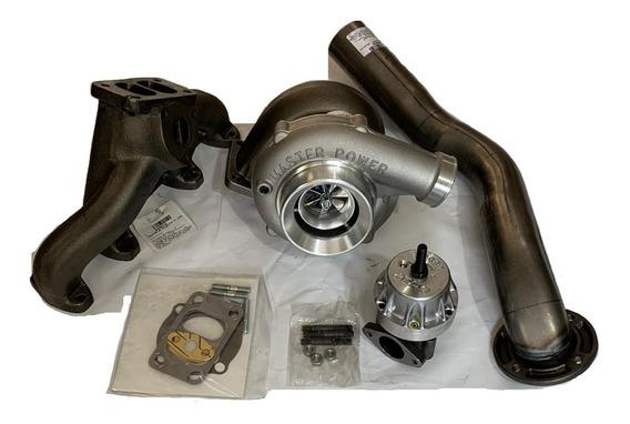 Kit Turbo Parcial Vw Ap Coletor Pulsativo Farol Turbina .50