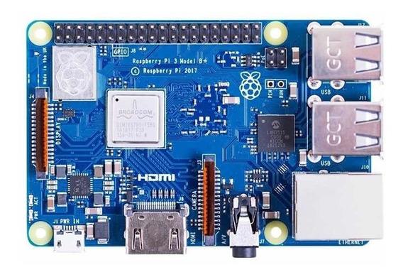 Raspberry Pi 3 B+ Plus Anatel 1.4ghz Wifi+bluetooth+hdmi