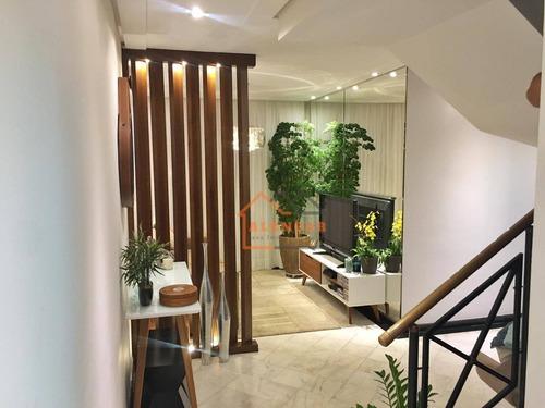 Imagem 1 de 29 de Apartamento Duplex À Venda, 160 M² Por R$ 1.219.000,00 - Vila Gomes Cardim - São Paulo/sp - Ad0011