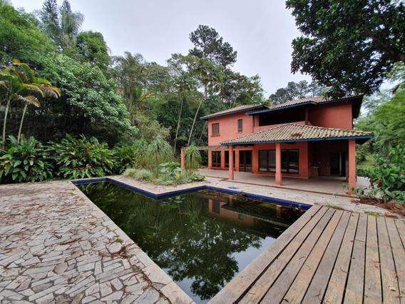 Casa Para Alugar 531m² - 4 Suítes - Condomínio Moinho Velho - Embu Das Artes - 805 - 34678536