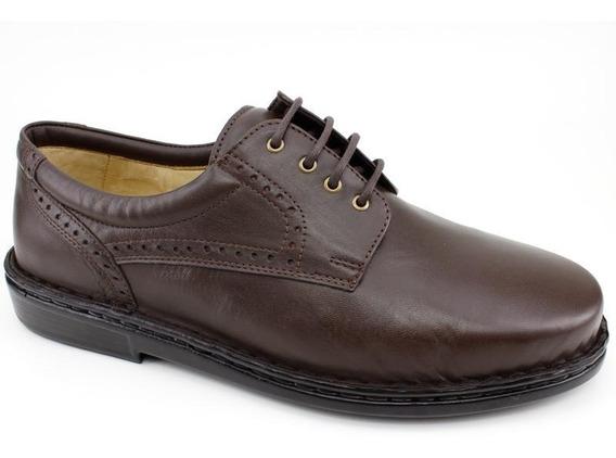 Sapato Masculino Opananken 35505 Couro Café