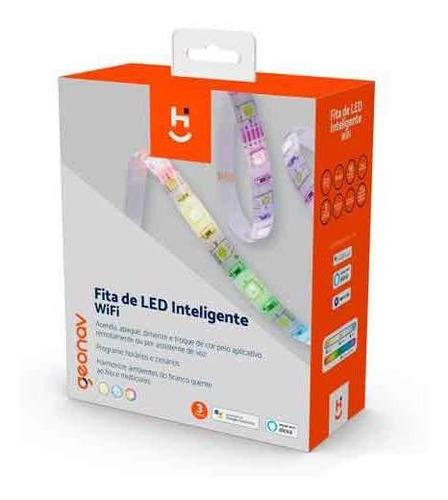 Fita Led Rgb+w 2700-6500k 3 M Wi-fi + Bluetooth -  Hi Geonav