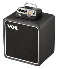 Combo Cabeçote Guitarra Vox Mv50 Clean + Caixa Bc108 25w -
