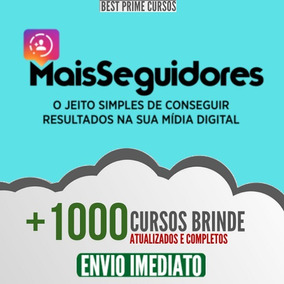 Curso Mais Seguidores 2019 - Ana Tex + 1000 Brindes