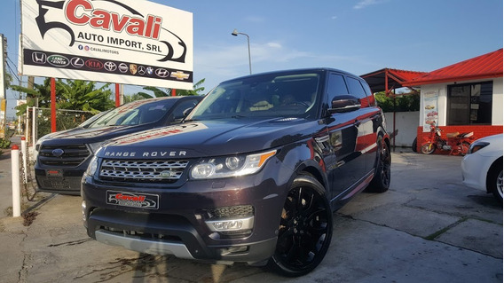 Land Rover Range Rover Sport Supercharge Negra 2014