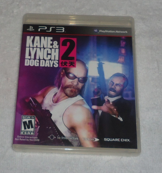 Kane Lynch 2 Dog Days Ps3 ** Leia