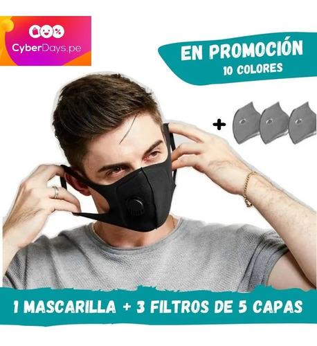 Mascarilla Deportiva C/filtro En Dscto! Delivery Todo Perú