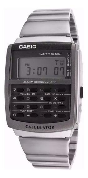Reloj Casio Calculadora Ca-506-1d Agente Oficial Caba