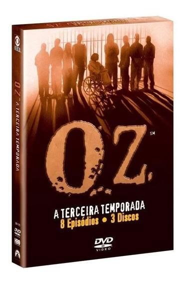 Seriado Oz 3ª Temporada 3 Discos Dvd - Original
