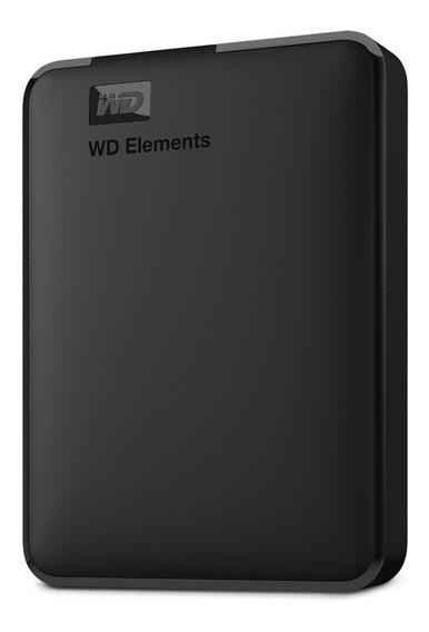Hd Externo 4tb Wd Elements 2,5 Usb 3.0 Lacrado 12x
