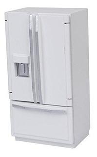 Miniatura 1/12 Dollhouse Nevera Refrigerador Para Casa De Mu