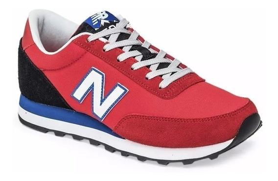 Zapatillas New Balance 501 Hombre - Rojo
