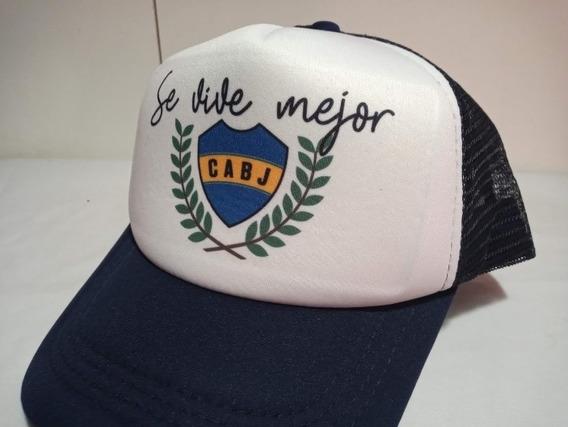 Gorra Trucker Boca Juniors 1