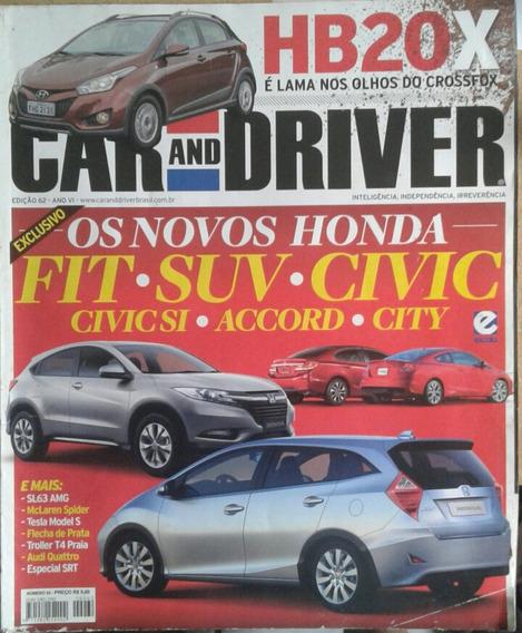 Revista Car And Driver Edição 62