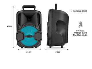 Parlante Portatil Bluetooth Gadnic Xbs10 2400w