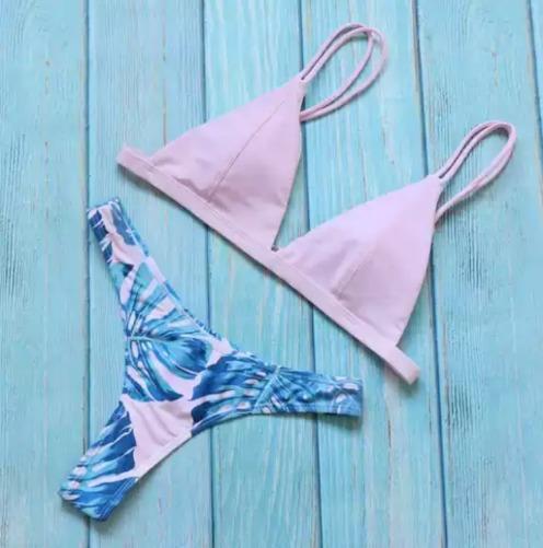 Vestido De Baño Bikini Mujer Talla S Playa Vacaciones