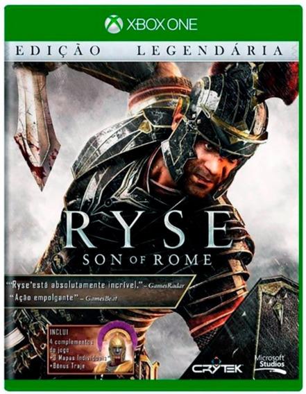 Ryse Son Of Rome Edição Legendária - Dublado E 100% Em Portugues - Midia Fisica Original E Lacrado - Xbox One