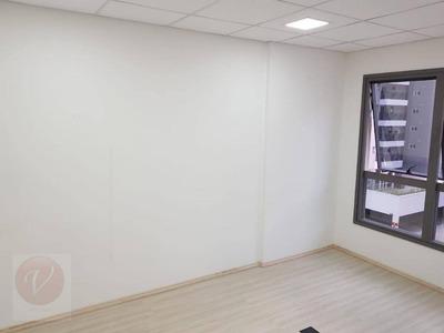 Sala Comercial Para Locação, Bairro Jardim, Santo André - Sa0554. - Sa0554