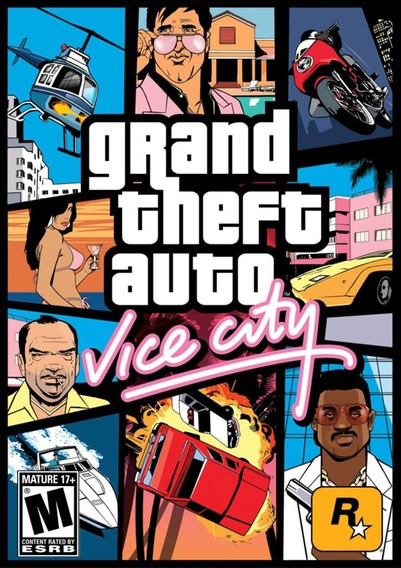 Gta Vice City Mídia Física