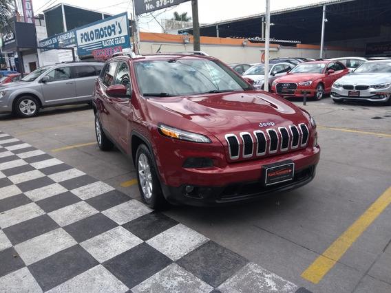 Jeep Cherokee Latitude 2015 Roja