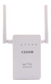 Repetidor Roteador Wifi 1200mbps 2 Antenas Amplificador Wps