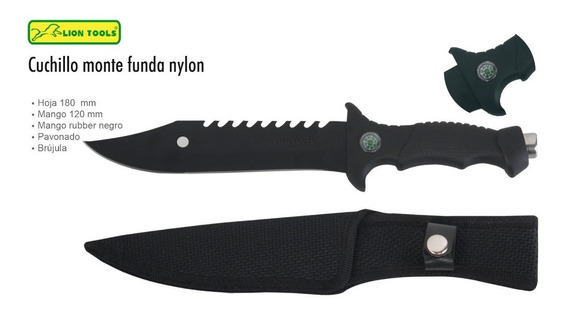 Cuchillo Monte De Campismo Lion Tools 2311