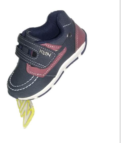 Tênis Klin Infantil Sapato Outdoor Marinho 161.069000-000
