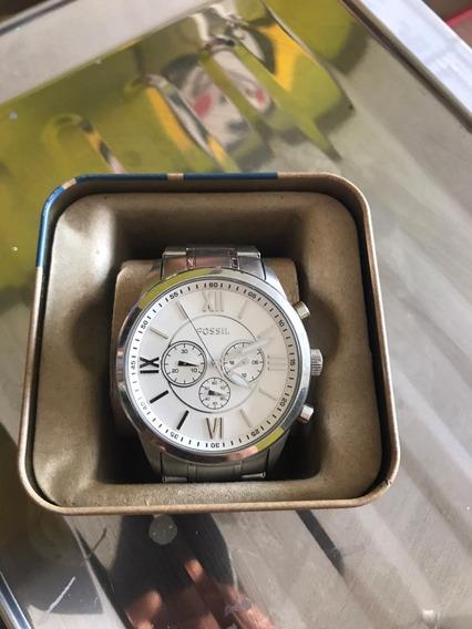 Reloj Fossil Seminuevo Acero Inoxidable Original